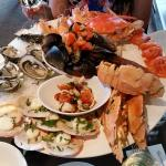 The famous seafood platter!