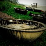 The basket boats right outside our door!