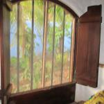 window in bungalow