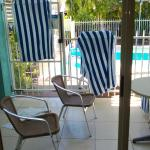 easy access to pool from our room