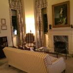 Sitting room of Suite 306 Balmoral Hotel