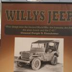Jeep donated by the Chrysler Corp..