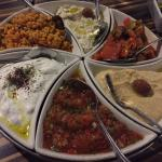 Cold meze platter - Chef Sampler