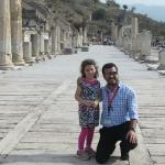 Hakan or tour guide and our 5 year old