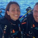 Ready to enjoy diving.