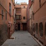 Alley outside of the Riad