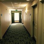 Hallway outside of door