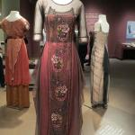 A dress used in Downton Abbey