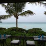View from Breezes at lunch.
