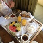Breakfast included with your stay!!! Delivered to the room!!!!