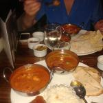 This is the curry feast..and it was