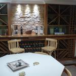 Awesome wine cellar with great wine tastings!