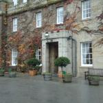 Front of Tregenna Castle Hotel