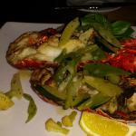 Lobster dinner - no elegance in presentation and too tough