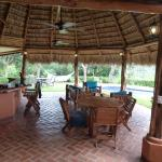 outdoor living/dining at Villa Pochote