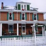 Old Clark Inn in Winter