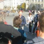 Michael Ballaschk in full flow...