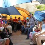 Our first excursion with Heritage Travel - wagon ride to the Valley of Kings for a sumptuous lun