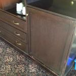 Worn out dirty furniture