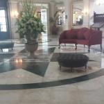 Lobby in older part of hotel