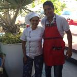 Jose and Judid - they take good care of you , freshly cooked delicious simply healthy food serve