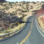 Road to Page from Kayenta area