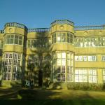 Front view of Astley Hall