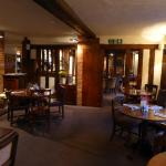 The Bar (beyond) and Dining area
