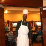 This guy (known as 'CHEF') will make you feel welcomed and pampered.