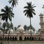 nearby mosque