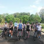 Our cycling group
