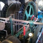 Steam winding engine