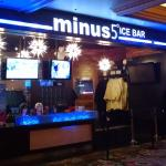 Check-in for Minus5 at the Monte Carlo on the Strip