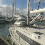 Walking along the stunning marina, if you love boats and want peace and quiet!