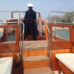 Private cipriani boat to main island ..!