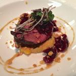 Pleasant Valley Duck/ Popcorn grits/ Rainier Cherry/ Macadamia/ Cider