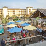 Our open air deck is the perfect place to hang with family and friends