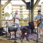 Live music on our outdoor band stand