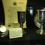 Silver Chalice given to the church by the Bermuda Company in 1625.