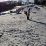 Great snow, great sun... great fun at Woodbury!
