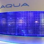 Aqua is a very nice restaurant and the staff are great... Nice deco...