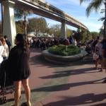 """These are people waiting to get in who have the early-entry """"Extra Magic Hour""""--in the """"off-seas"""