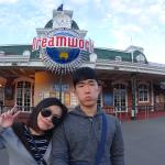 The end of our day at Dreamworld