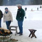 Firepit in the Winter