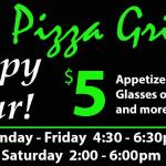 Happy Hour is here!!!  Mon-Fri 4:30-6:30  Sat 2:00-6:00pm! Check it out!!!