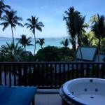 Our spa room balcony