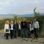 Chianti Wine Tour 2 with our guide and a nice couple from New Zealand