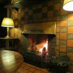 You can't beat a seat by one of the brilliant Log Fires...