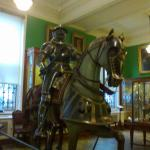 There is even an armoury collection
