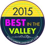 Voted Best in the Valley 2015